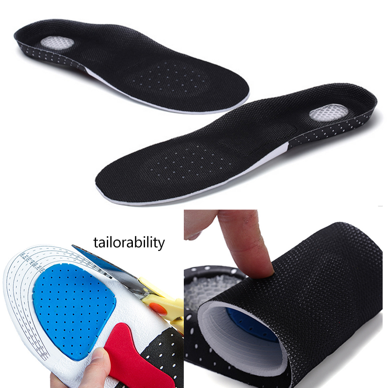 Fashion 0.75cm Increase Height Absorb Sweat Insole Can Be Cut Insole Men Women Unisex Sweat Sports Snsole EVA Insole