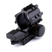 Tactical Holographic 4 Reticles Projected Red Green Dot 20mm Mount For Hunting Airsoft Guns Reflex Sight