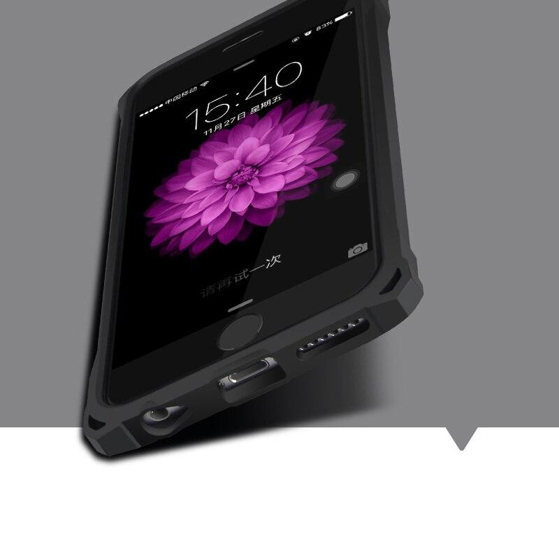 ITEUU Anti-knock Hard Case för iphone 6 6S Fodral Stötsäker Klar - Reservdelar och tillbehör för mobiltelefoner - Foto 4