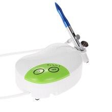Multiusos kit del Compresor del Cepillo de Aire Pistola de Pulverización de pintura Cepillo de Aire de chorro de arena para la Pintura Corporal Maquillaje del Arte de La Torta Modelo de coche de juguete