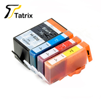 Compatible Ink Cartridge 920XL BK C M Y With Chip 5PK For Photosmart HP Officejet 6000