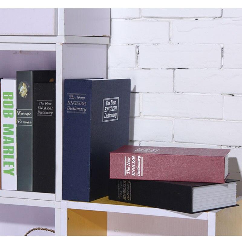Купить с кэшбэком Hidden Secret Box For Kids Cassaforte Mini Piggy Bank Lock Book Safe Box Cofre Cash Storage Items Key Stash Small Safe For Money