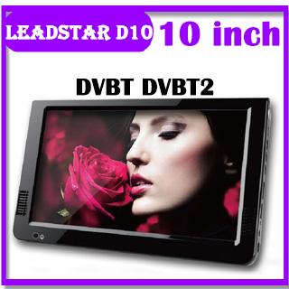 LEADSTAR D12 12 Inch LED TV Digital Player AC3 DVB T T2 ATSC Analog