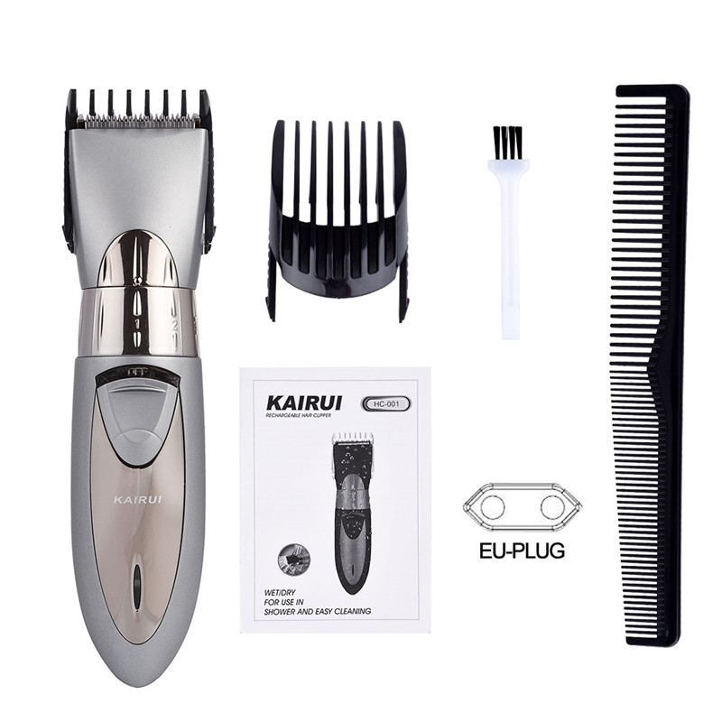 Professional Electric Waterproof  Men's Hair Trimmer Hair Cutting Machine Rechargeable Trimer Haircut Razor Shaver Tool 42