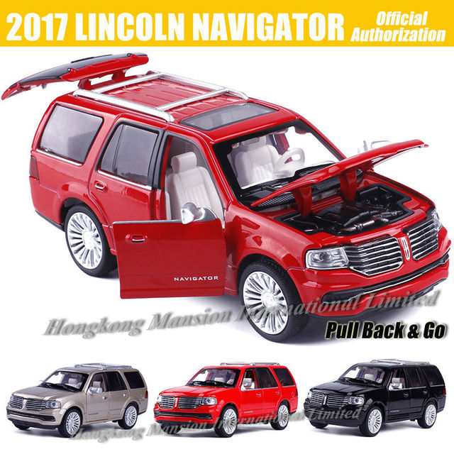 1 32 Scale Luxury Diecast Alloy Metal Car Model For 2017 Lincoln