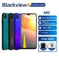 Blackview A60 電話 1 ギガバイトの RAM 16 ギガバイト ROM スマートフォン 6.088