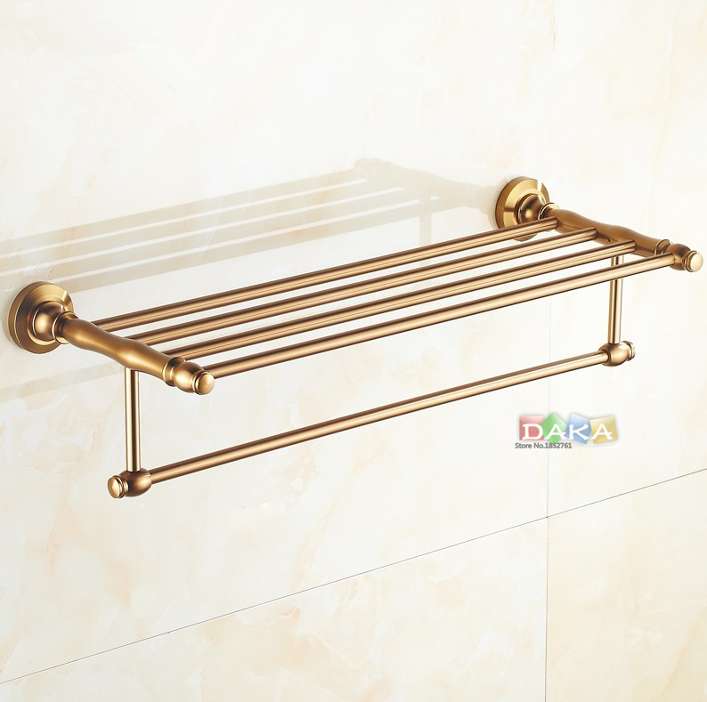 aliexpresscom buy 2016 luxury antique design towel rackmodern bathroom accessories towel bars shelf fashion towel holder toalheiros from reliable