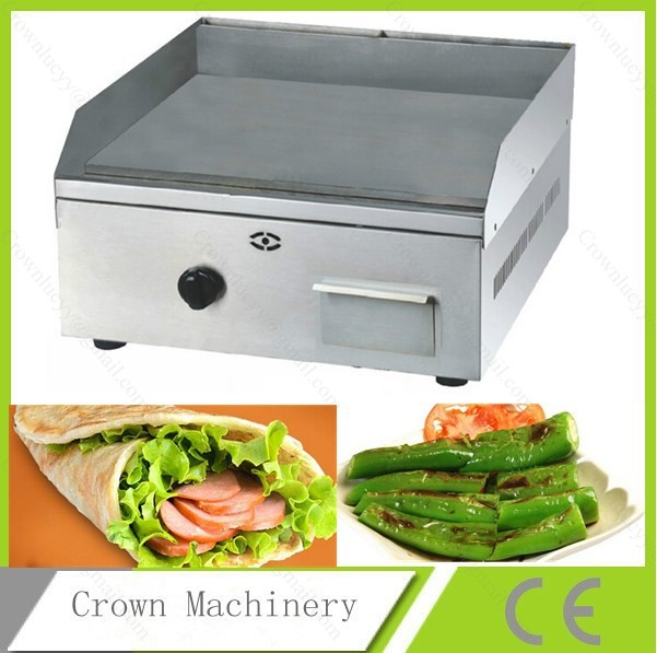 Kitchen Equipment Lpg Gas Flat Griddle And Grille In Electric Grills