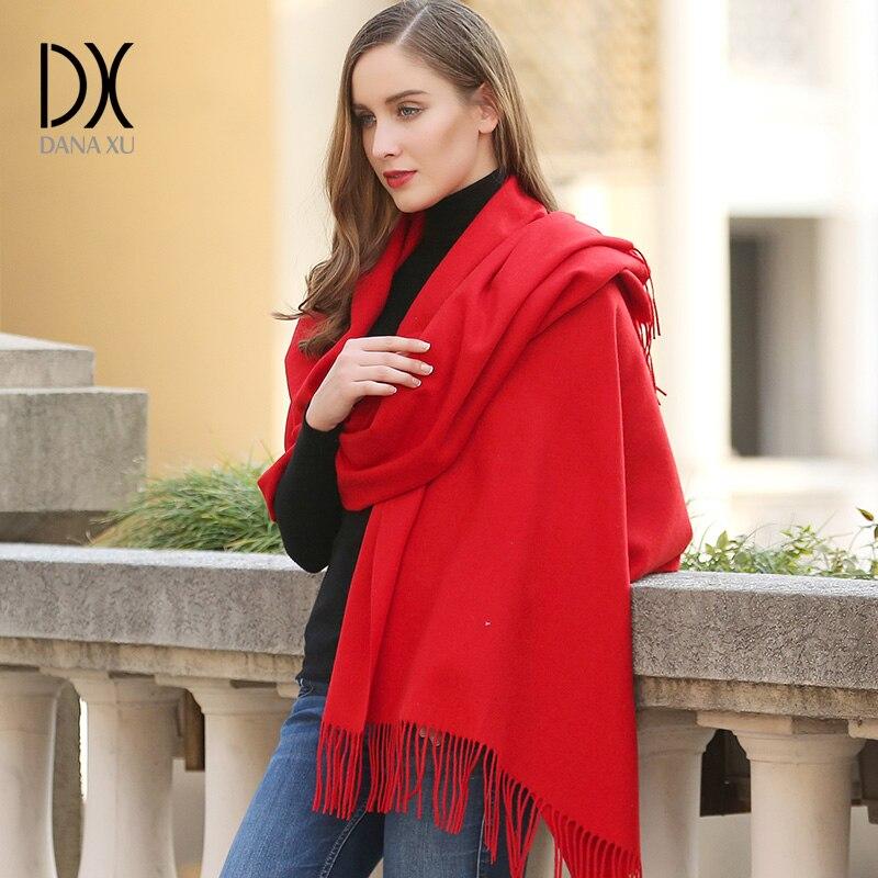 Marca de luxo Echarp Pashmina Cachecol de Caxemira Envoltório Xaile Da Moda Inverno Quente Cachecol Senhoras Lenços Borlas Longo Cobertor Cachecol