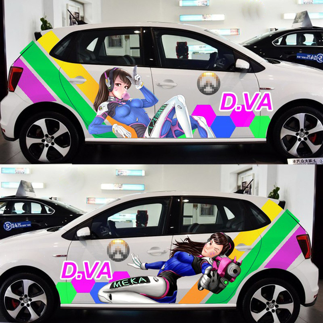 D.va Car Stickers