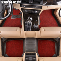 Custom Car Floor Mats For Toyota All Models Corolla Camry Rav4 Auris Prius Yalis Avensis 2014