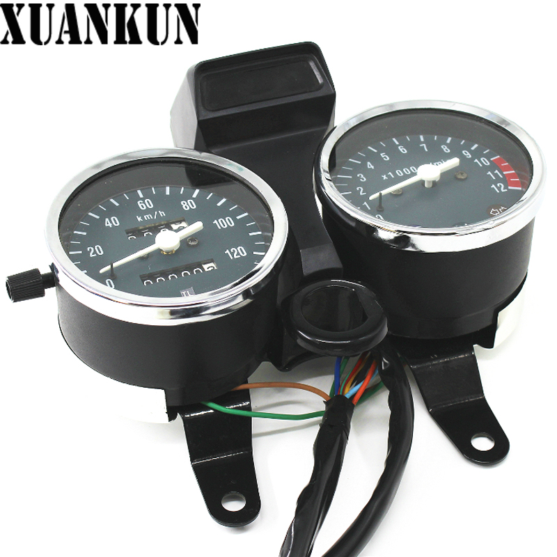 XUANKUN Motorcycle Instrument GN125 Speed Meter Assembly цена