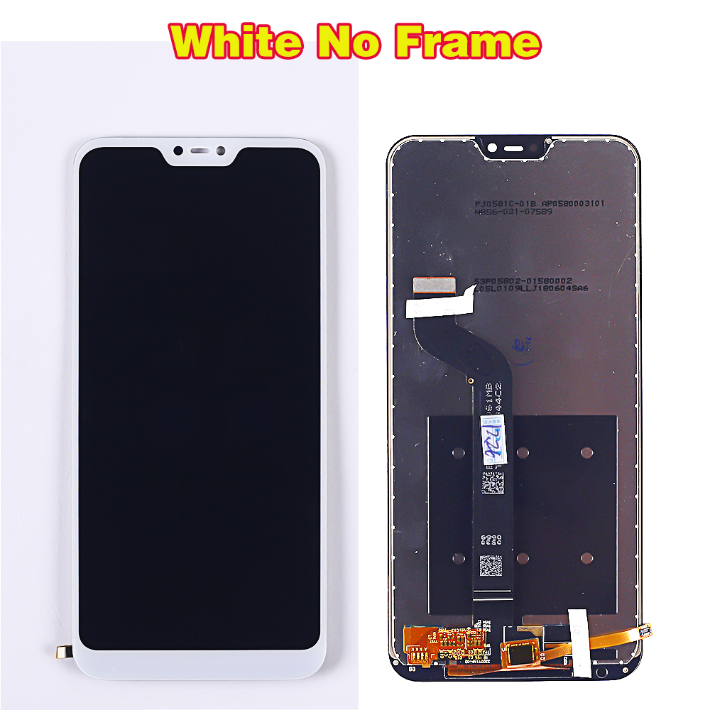 HTB1OkN2aN rK1RkHFqDq6yJAFXaL Deal Team 5.84 inch LCD display For Xiaomi Mi A2 Lite touch screen digitizer assembly For Xiaomi Redmi 6 Pro Frame 10 Multitouch