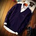2016 бренд одежды Eden park не может позволить себе мужской пункт кардиган свитер качество мяч хлопок свитера