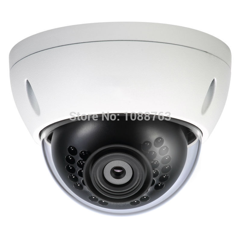 DAHUA 4MP Full HD WDR Vandalproof and Waterproof IR Network Dome Camera Original English Version without