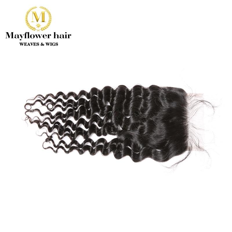 Mayflower 100% Virgin Malaysian Hair 4X4