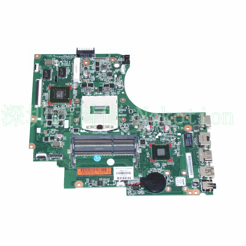 NOKOTION 756221-001 756221-501 for HP TouchSmart 15-D 15-D101TX 250 Laptop motherboard 820M 2G Video card 815248 501 main board for hp 15 ac 15 ac505tu sr29h laptop motherboard abq52 la c811p uma celeron n3050 cpu 1 6 ghz ddr3
