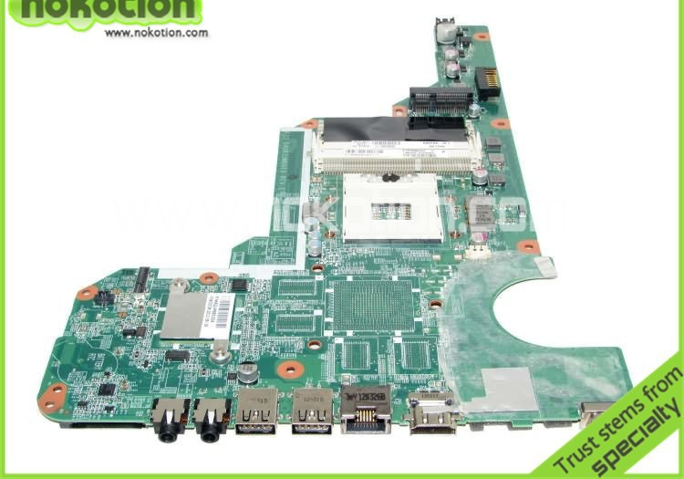 NOKOTION 680568-001 for HP G6 G6-2000 Laptopmotherboard DA0R33MB6E0 with INTEL HM77 Full Tested CORE i 3nd Mainboard nokotion sps v000198120 for toshiba satellite a500 a505 motherboard intel gm45 ddr2 6050a2323101 mb a01