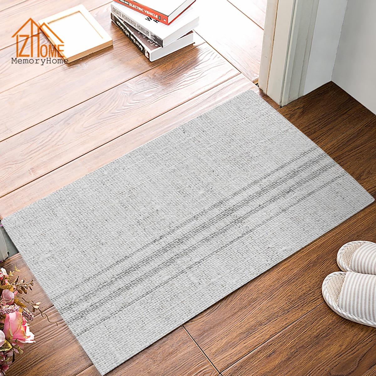 Memory Home Vintage Farmhouse Grain Sack Printed Doormat