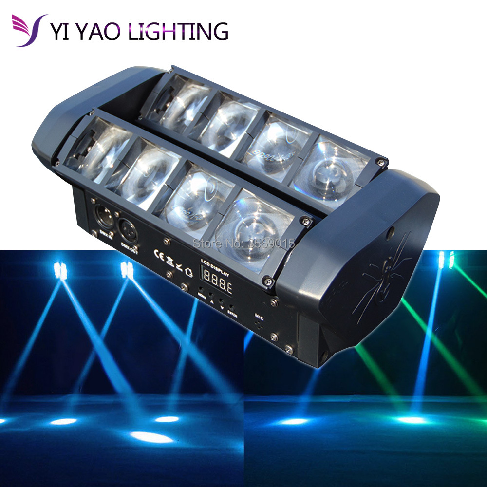 new moving head light led spider 8x6w rgbw 4in1 beamnew moving head light led spider 8x6w rgbw 4in1 beam