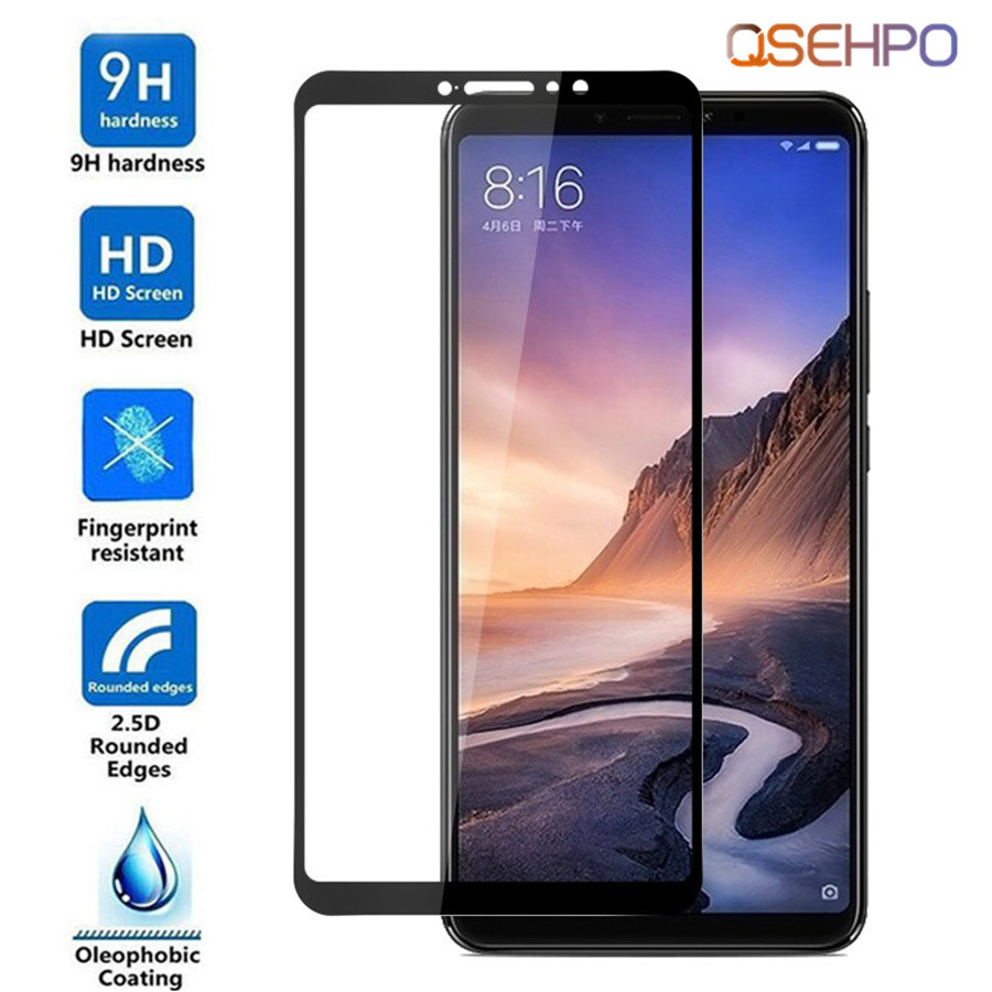 Film-Guard Protective-Film Screen-Protector Phone-Glass Xiaomi Mi-Max Max3 For 2/3-tempered-glass/Full-cover