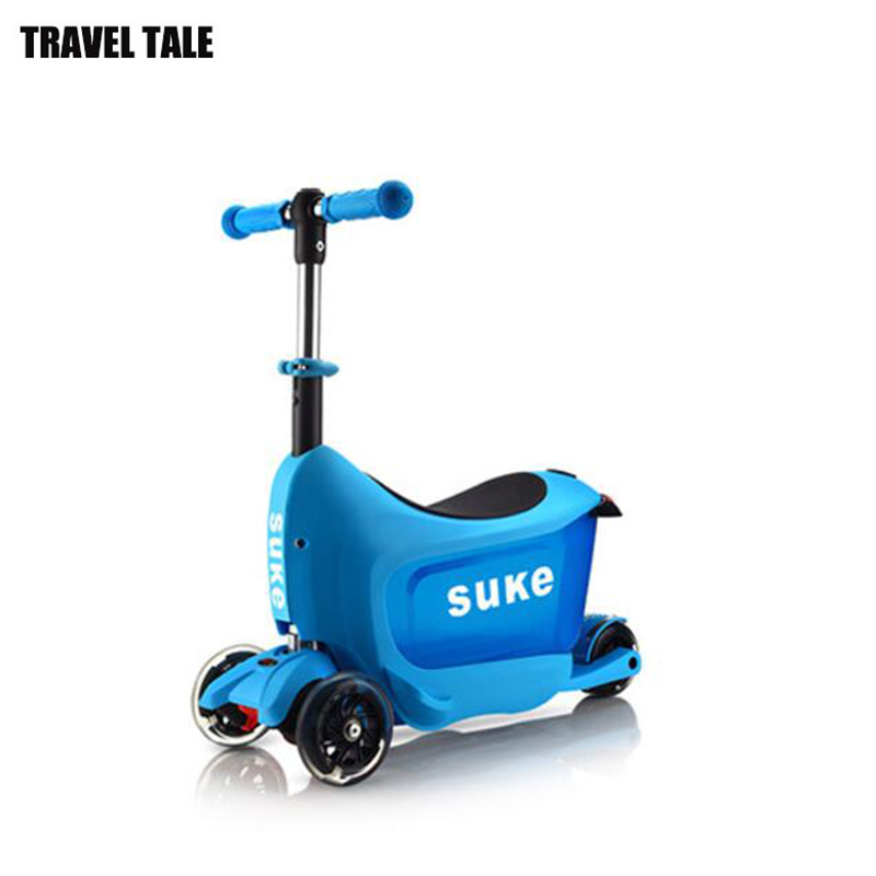 Travel Tale Scooter Rolling Suitcase Car Luggage For 2 3