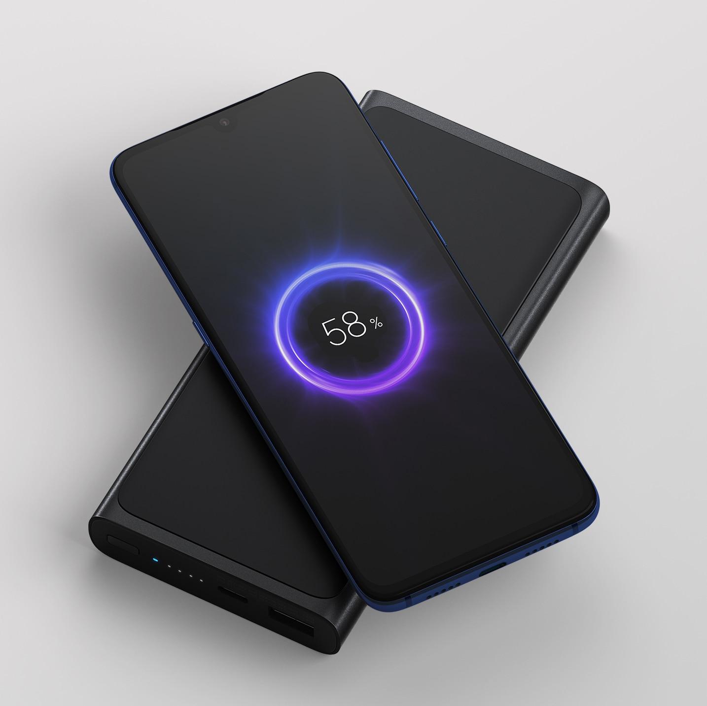 Pré-commande Xiao mi mi 10000 mAh Sans Fil Powerbank charge rapide 10000 mAh batterie externe batterie externe pour iPhone X Xs MAX samsung
