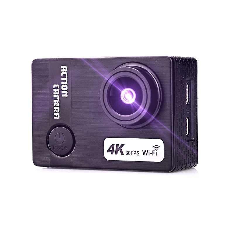 """Go Pro экшн мини камера Ultra HD 4 K/30fps WiFi 2,0 """"170D подводный 30 м водонепроницаемая Спортивная камера для шлема vlog tik tok Hero Cam"""