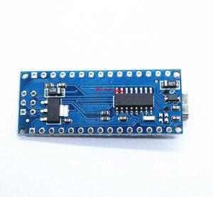 Image 5 - 10PCS Nano Mini USB Com o bootloader compatível para arduino Nano 3.0 controlador CH340 driver USB 16Mhz Nano v3.0 ATMEGA328P