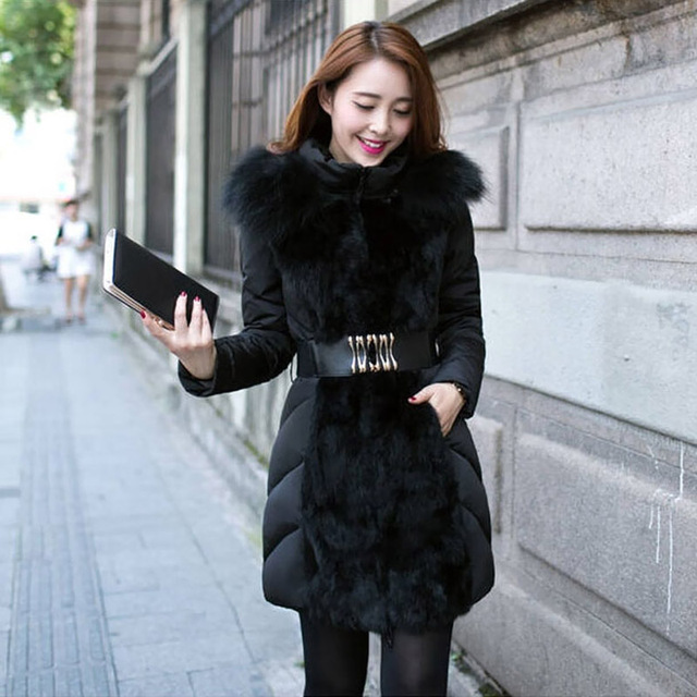 Hot Sale Winter Coat Women Fashion Coat Luxury Slim Jackets And ...