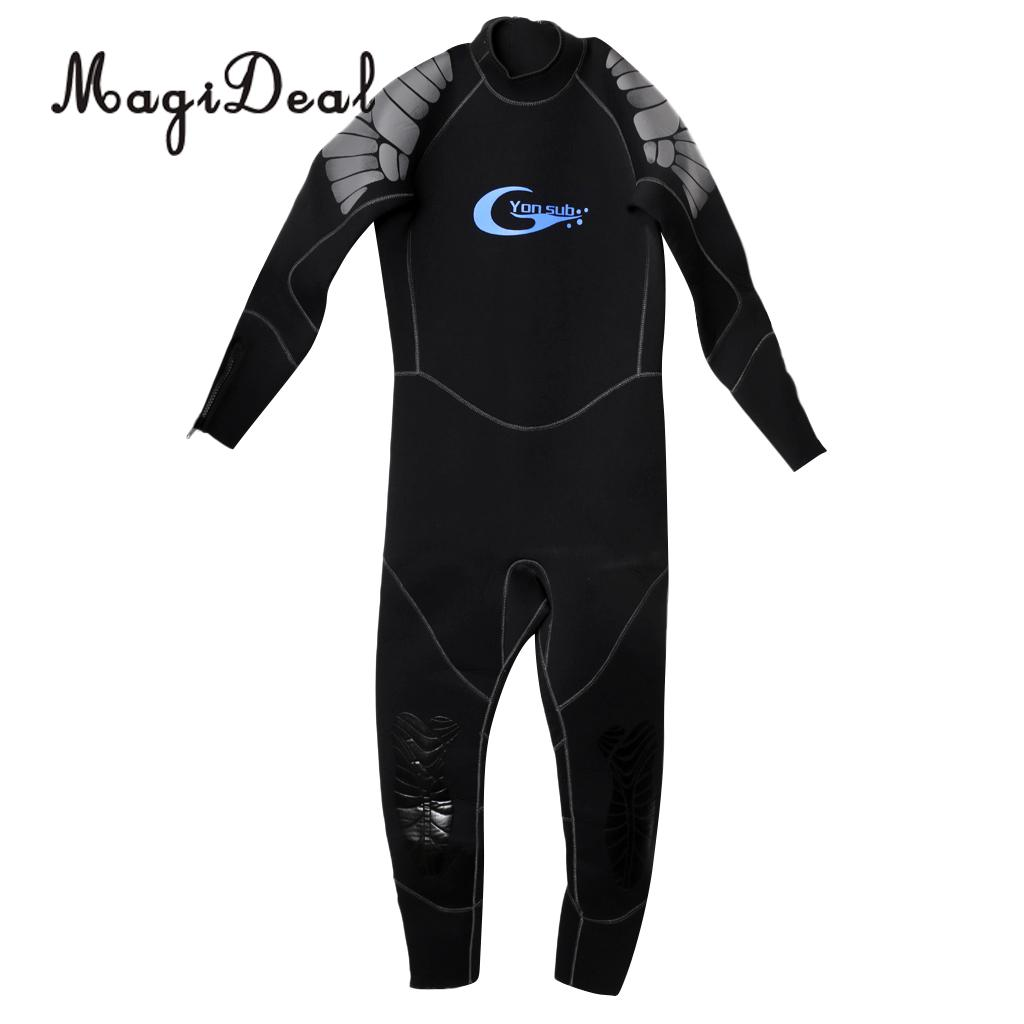 Premium 5mm Neoprene Men Wetsuit for Scuba Diving Snorkeling Surfing Kayak Bodyboard Jet Ski Sailing S/M/L/XL for Spearfishing 2016 new styles summer diving wetsuit for men father day s gift summer surfing costumes fine embossed wetsuit a1616