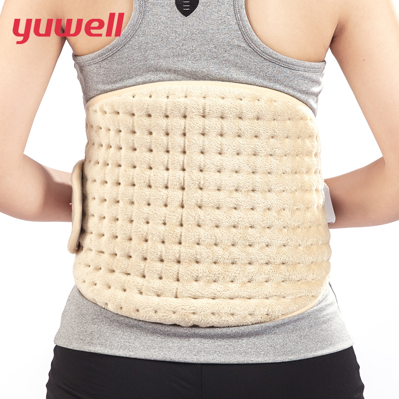 Yuwell Heating Pad Belt Lower Back Relax Lumber Electric Stomach Waist Heat Wrap Therapy Support Brace Warm Womb Pain Relief electric heating waist belt protector for intervertebral strain lumbar support heating uterus stomach suited for men and women