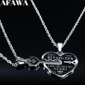 2019 Fashion 2PCS Heart Key St