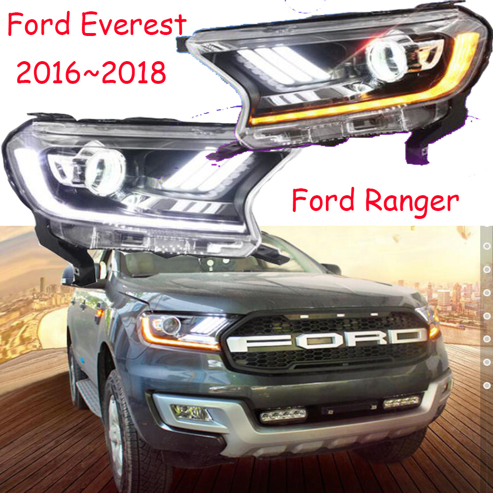 Video, Ranger del faro, 2016 ~ 2018, Car Styling per Everest Del Faro, di Transito, Explorer, bordo, Toro, Falcon, Everest testa della lampada