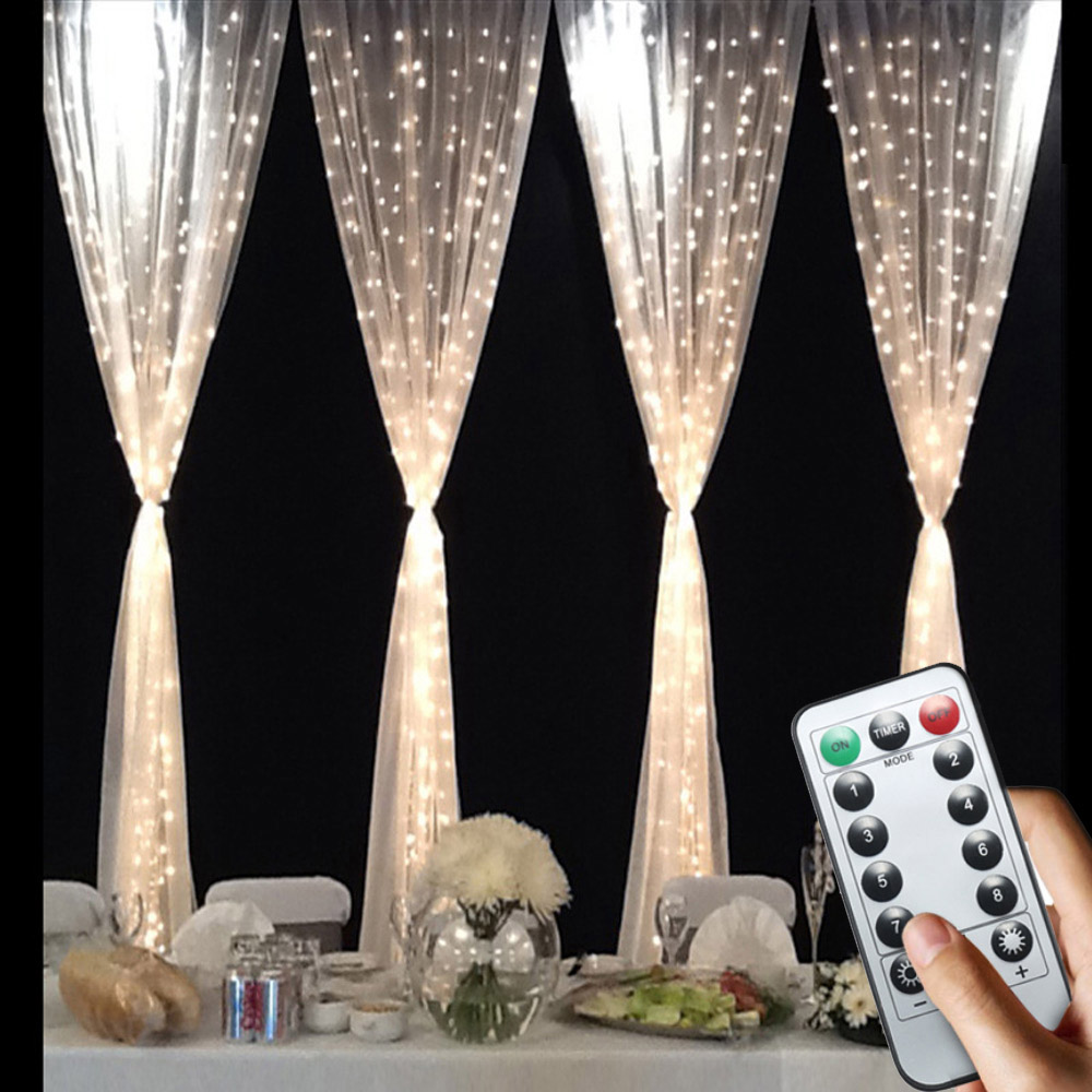 Fairy Light Curtain Led Garland Battery Ed Decorative 220v Christmas Decoration Outdoor Usb Plug Wedding Lights