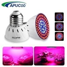 E27 220V Светодиодный светильник для выращивания, полный спектр, для помещений, фито-лампа для растений, гидропоника, цветов, овощей, Светодиодный точечный светильник
