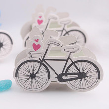 20pcs/lot Handmade Cute Pretty Bicycle Shape Paper Candy Box for Wedding/Birthday Favors and Gifts Party Decorative Supplies