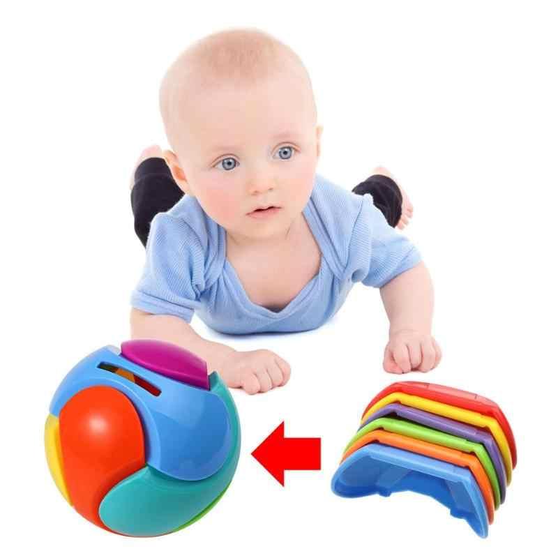 DIY Montar Bola Brinquedo Do Banco Piggy Plástico Tijolos Crianças da Primeira Infância Brinquedos Educativos Criativo Montado Enigma Educacional Toy Presente