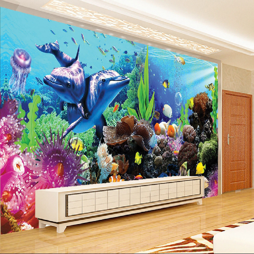 5D DIY Full Diamond Painting Embroidery Underwater World Diamond Cross Stitch Needlework Living Room Kids Room