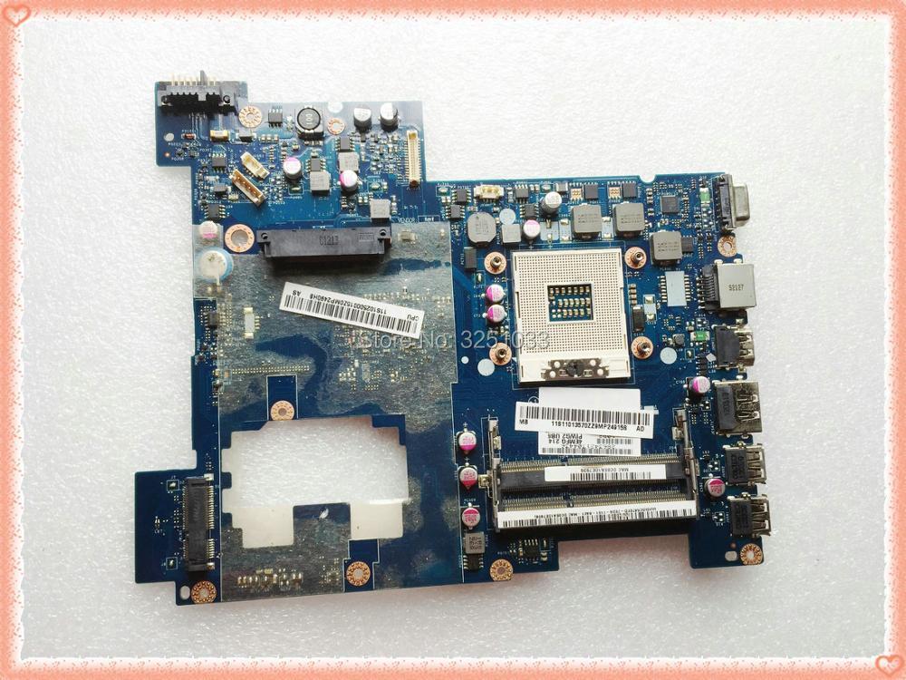 PIWG2 LA 675AP for Lenovo G570 Laptop Motherboard LA 675AP System Board HM65 DDR3 100 tested