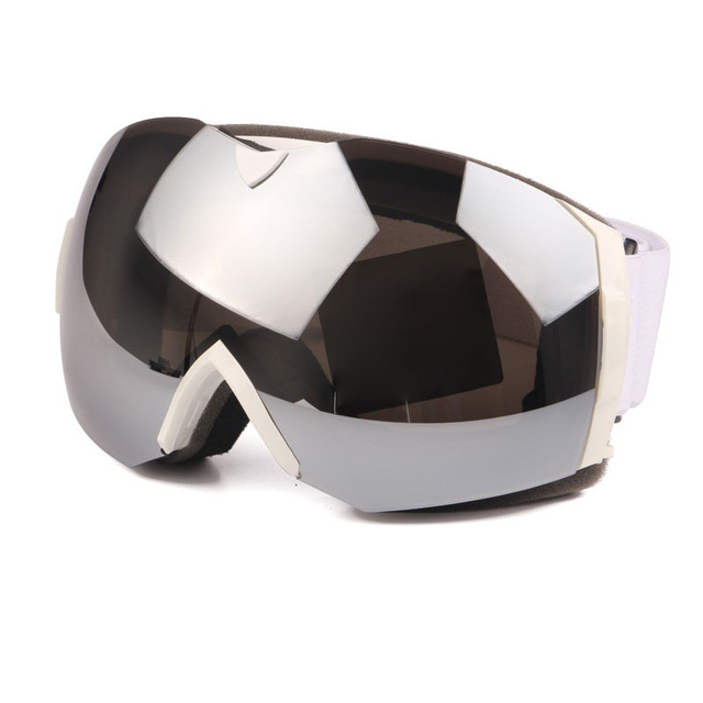 interchangeable ski goggles  2016 new interchangeable piece polarized glasses double anti fog ...