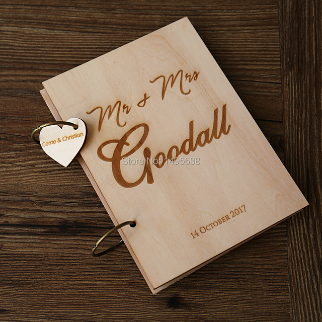 Custom Wedding guest book ,Personalized Initial Guestbook , wedding ...