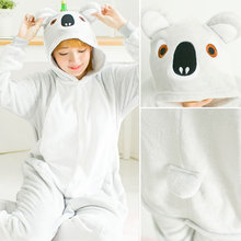Women Kigurumi Pajamas Sets Animal Pijama Winter Long Sleeve Pyjamas Pig Cosplay Sleepwear Flannel Cute Homewear