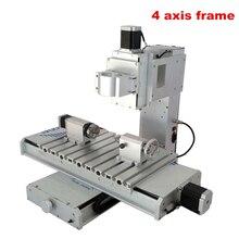 CNC фрезерный станок рама 3040 колонна рамка Высокая точность шариковый винт CNC 4 оси гравировальный станок рамка