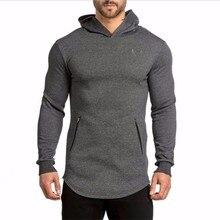 Pullover Männer Marke 2016 Neue Fashionmens Fitness Baumwolle Lässige Pullover Kleidung Männlich Sweatshirt