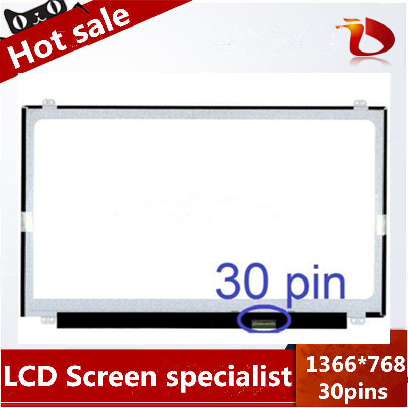High quality  A+ 15.6 Laptop LCD Screen For Dell Latitude 15 E5570 LED Matrix 30Pins Slim 1366*768 30pins for lenovo x250 lcd screen lp125wh2 tpb1 edp 30pins 1366 768 good quality original for laptop