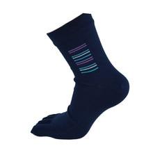 Mooistar #5022 г 1 пара Высокое качество Для мужчин Бизнес теплые носки мужские серединке пять пальцев ног Носки Бесплатная доставка