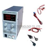 Free Shipping KPS3010DF 0 30V 0 10A 110V 230V 0 1V 0 001A EU LED Digital