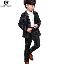 Kids Boys' Suit 2 Button Tuxedo with No Tail Blazer & Pants