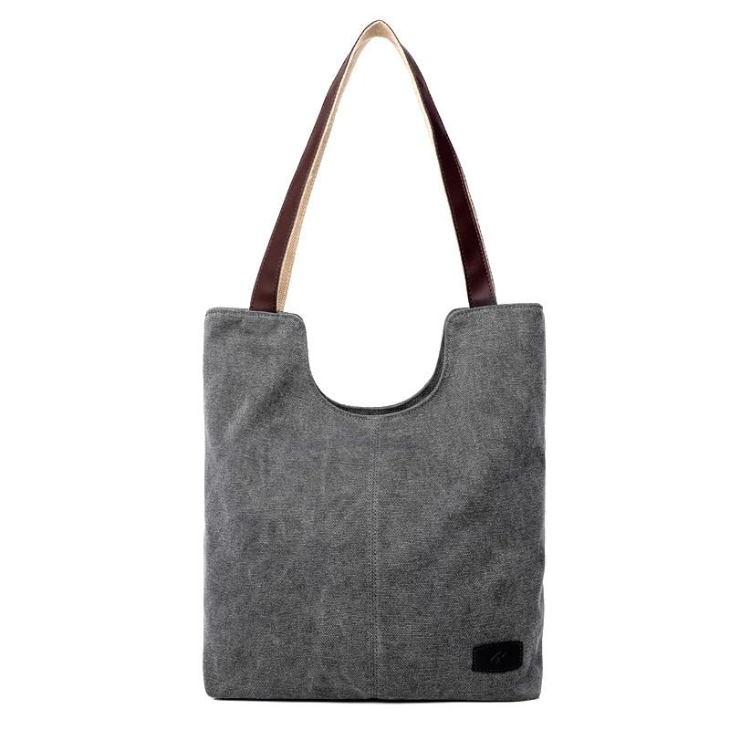 Fashion 2017 Women Canvas Handbag Vintage Travel Shoulder Bags Causal Lady Handbags Female Shoulder Toto Bags Bolsa